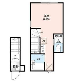 KTS笹塚2階Fの間取り画像