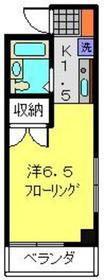 新羽駅 徒歩30分3階Fの間取り画像