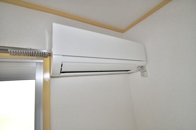 メダリアン巽 うれしいエアコン標準装備。快適な生活が送れそうです。