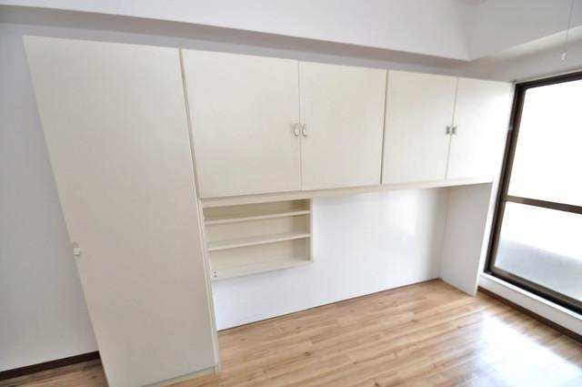 コーポ99 もちろん収納スペースも確保。おかげでお部屋の中がスッキリ。