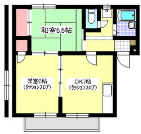 朝霞駅 徒歩26分3階Fの間取り画像