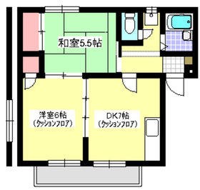 和光市駅 徒歩10分3階Fの間取り画像