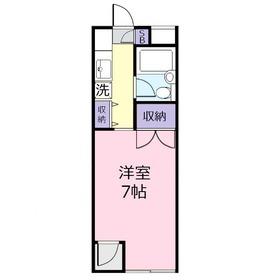 モンテローザEW2階Fの間取り画像