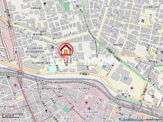 レガーロ御茶ノ水II 2番館案内図