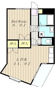 グランバリュー小田急相模原1階Fの間取り画像