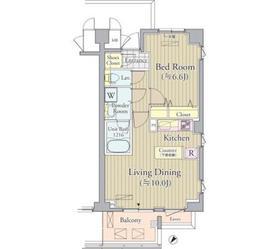 ACOLT新宿落合3階Fの間取り画像