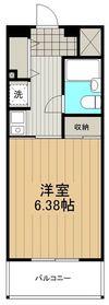 湘南ファーストライフ3階Fの間取り画像