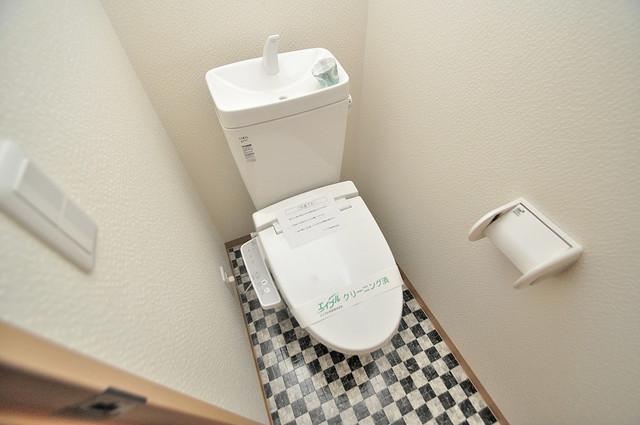EASTRITZ巽 スタンダードなトイレは清潔感があって、リラックス出来ます。