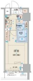 小伝馬町駅 徒歩3分4階Fの間取り画像