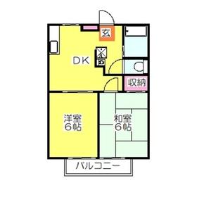 コンフォート新吉田A4階Fの間取り画像