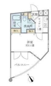 上板橋駅 徒歩11分3階Fの間取り画像