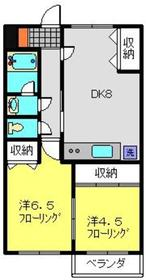 KMハーツ3階Fの間取り画像