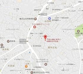 ヒルサイドレーン横浜山手案内図