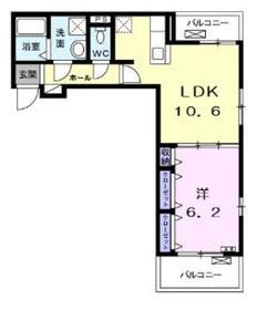 ガーデナ2階Fの間取り画像