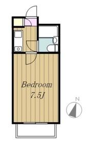 フラッツ相模原3階Fの間取り画像