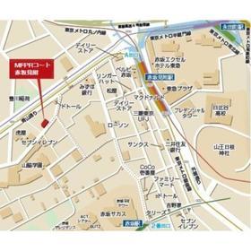 MFPRコート赤坂見附案内図
