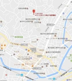 ユナイト横浜ポルトニョールの丘案内図