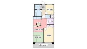 G−ONE姪浜駅南EAST3階Fの間取り画像