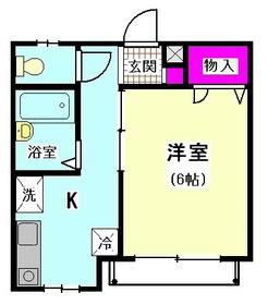 ヴェルデ西馬込2 102号室