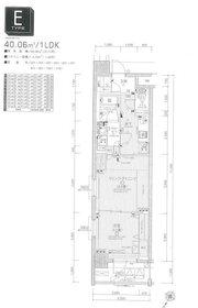 日神デュオステージ関内大通り公園3階Fの間取り画像