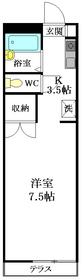 プラーチル新高円寺1階Fの間取り画像
