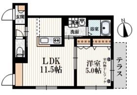 上石神井駅 徒歩7分1階Fの間取り画像