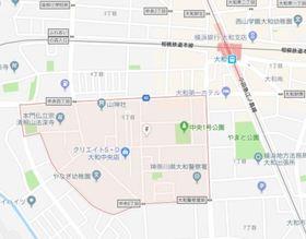 相模大塚駅 徒歩25分案内図