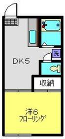 新羽駅 徒歩16分2階Fの間取り画像