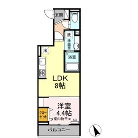 ルミナスティ3階Fの間取り画像