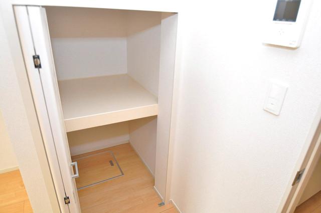 カーサプラシード もちろん収納スペースも確保。おかげでお部屋の中がスッキリ。