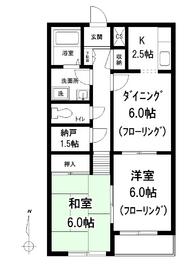 ディアナコ-ト3階Fの間取り画像