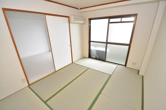 OMレジデンス八戸ノ里 もう一つの癒しの空間。和室です。