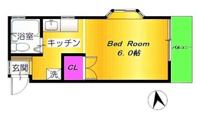 ブルーハイム2階Fの間取り画像