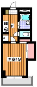和光市駅 徒歩8分4階Fの間取り画像