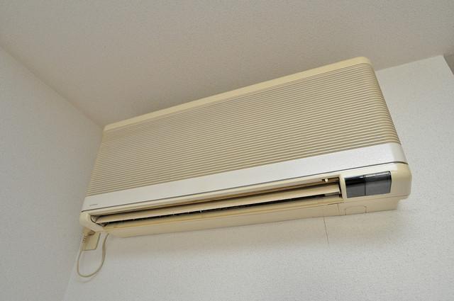 清洲プラザ高井田 エアコンが最初からついているなんて、本当に助かりますね。
