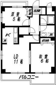 尾山台駅 徒歩9分3階Fの間取り画像