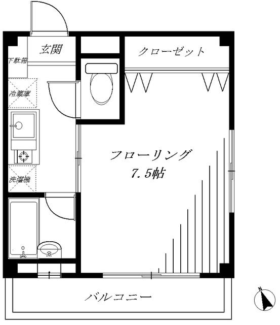 玉川台イレブン間取図