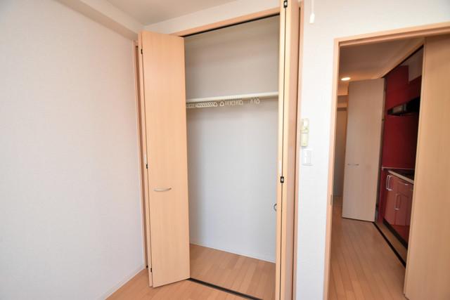 セレブ西上小阪 もちろん収納スペースも確保。いたれりつくせりのお部屋です。
