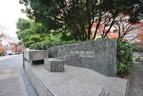 小石川パークタワーエントランス