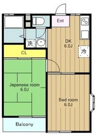 高座渋谷駅 徒歩30分1階Fの間取り画像