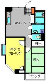ベステバリーⅡ3階Fの間取り画像