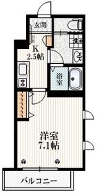 エンネ コバ4階Fの間取り画像