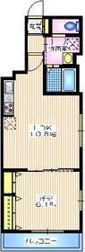 サニークレスト2階Fの間取り画像