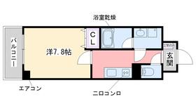 スペランツァ2階Fの間取り画像