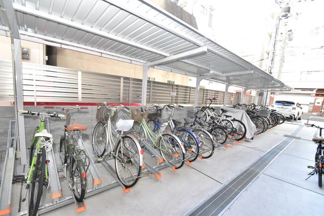 アーバネックス真田山 あなたの大事な自転車も安心してとめることができますね。