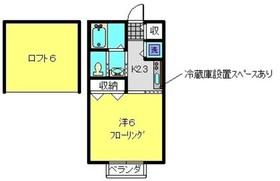 セントソレイユ ヨコハマ1階Fの間取り画像