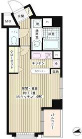 ウィステリアコート5階Fの間取り画像