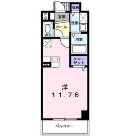 アバンツァート6階Fの間取り画像