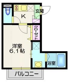 Y・S表参道3階Fの間取り画像