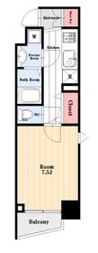 洋室7.5帖。二面採光角部屋。独立洗面台、浴室乾燥機等設備も充実。